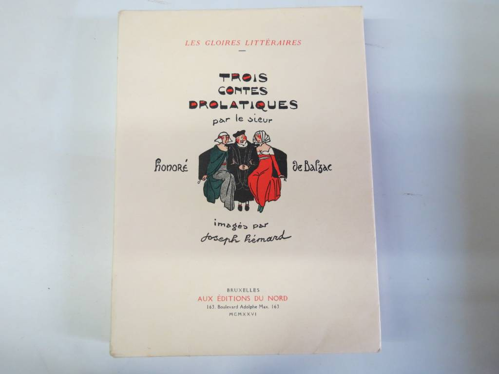 BALZAC. TROIS CONTES DROLATIQUES, Livres rares (1ère édition, livres illustrés, tirages limités), Livres | Puces Privées